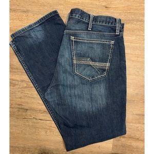 Cinch Ian Medium Wash Slim Fit Bootcut Style